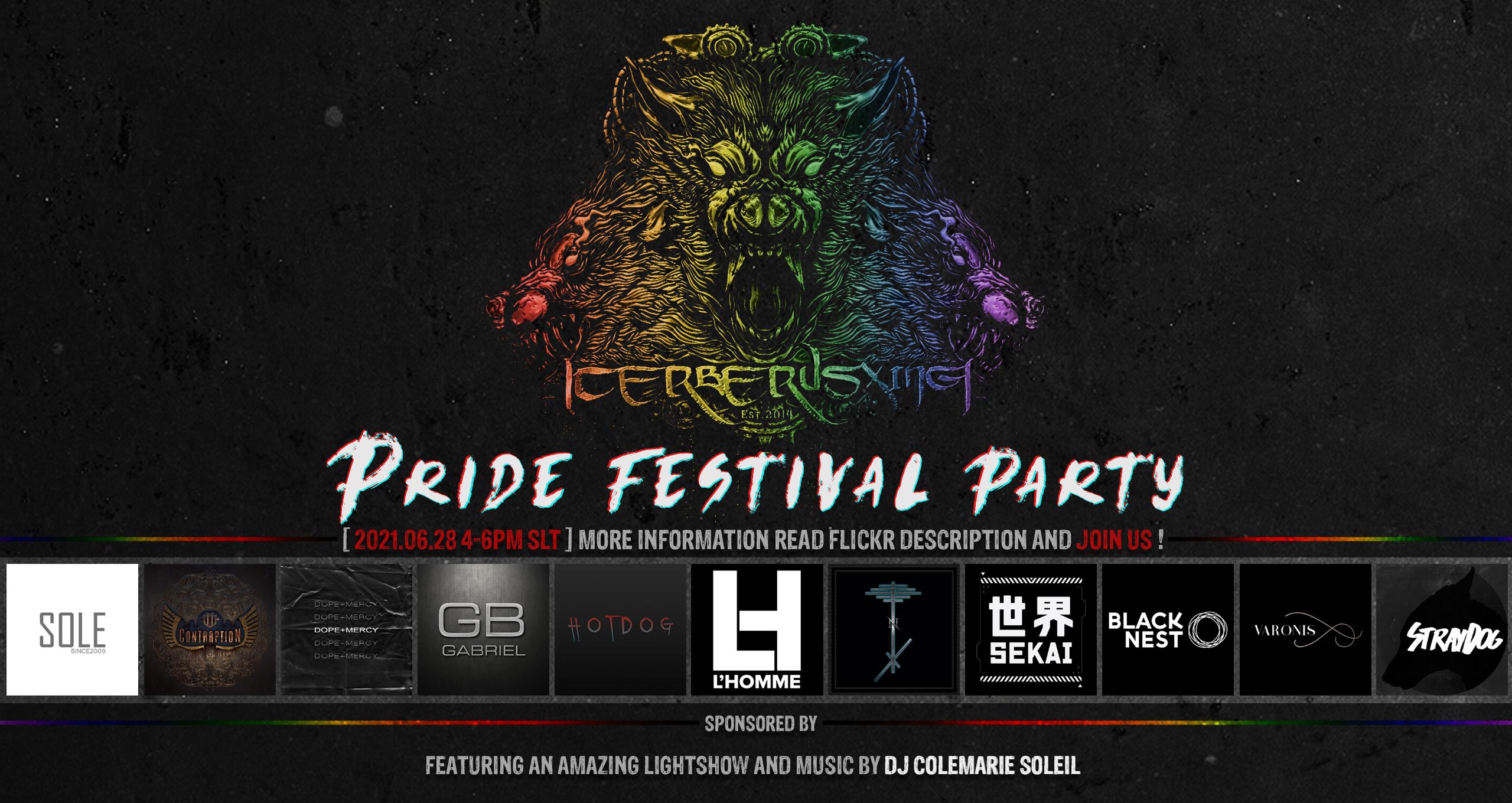 GABRIEL @ CerberusXing – Pride Festival 2021